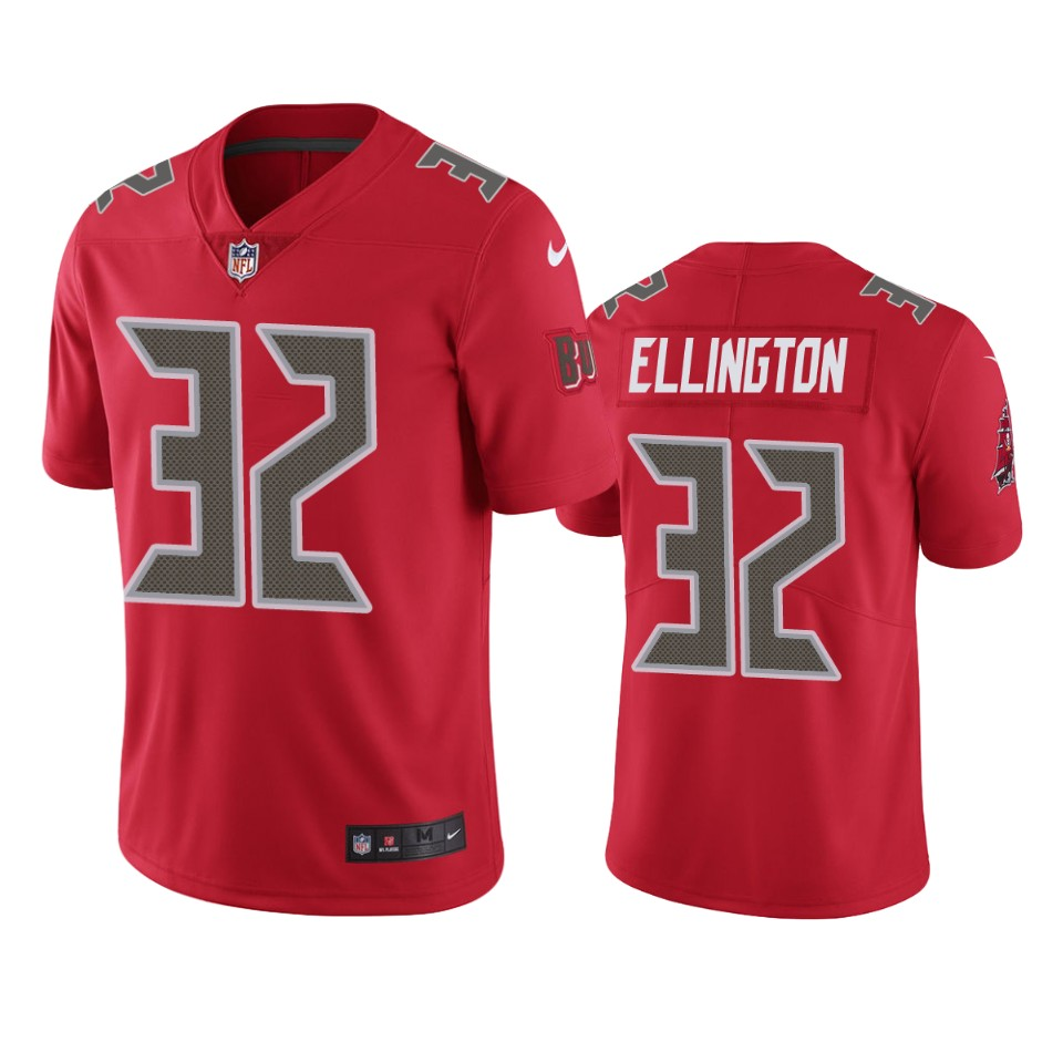 Andre Ellington Buccaneers Red Color Rush Limited Jersey – Www ...