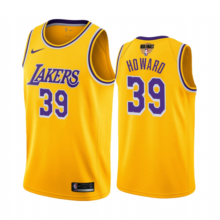 Lakers Dwight Howard 2020 NBA Finals Bound Gold Jersey Icon ...